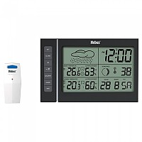 [해외]MEBUS 40345 Wireless Weather Station 4137851657 Black