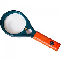 [해외]LEVENHUK LabZZ MG3 Magnifier With Compass 4137858216 Blue / Orange