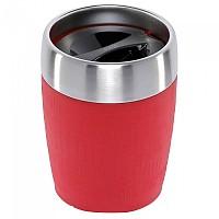 [해외]EMSA Travel Cup 200ml 4137865793 Steel / Red