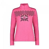 [해외]CMP Woman Sweat 4137702705 Pink Fluo Melange