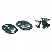 [해외]BOOSTER Pop Chock Mounting Kit 9137872298 Silver / Black