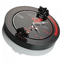 [해외]BOOSTER Circuit Clock 9137872224 Black / Red