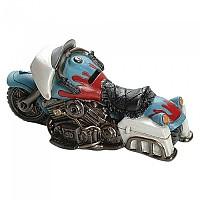 [해외]BOOSTER Piggy Bank Motorcycle 20 9137872360 Light Blue