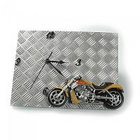 [해외]BOOSTER Wall Clock 9137872452 Silver / Yellow / Black