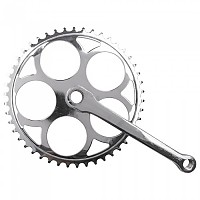 [해외]M-WAVE Single Chainwheel Set 1137875436 Silver