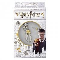 [해외]WARNER BROS Harry Potter Golden Snitch Keyring+Pin Badge Set 137793876 Silver / Gold