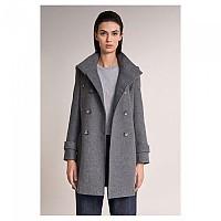 [해외]SALSA JEANS Long Duffle Coat With Detail Gray