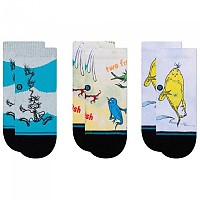 [해외]STANCE Dr. Seuss 1-2 3 Pack 137888308 Multi