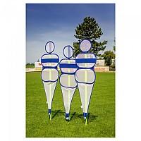 [해외]POWERSHOT Soccer Wall Collapsible Mannequin 3137842493 Blue / White