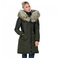 [해외]ONLY Linette Fur Coat Black / Detail Grey Fur