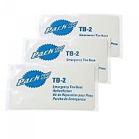 [해외]PARK TOOL TB-2 Emergency Tire Boots 3 Units 1137771203 White