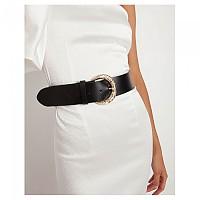 [해외]TOI&MOI Leather Belt With Ornated Buckle 137914614 Black