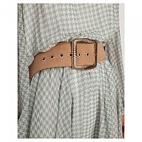 [해외]TOI&MOI Brushed Leather Belt With Ornated Buckle 137914616 Camel