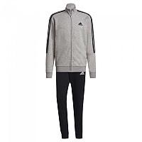 [해외]아디다스 Aeroready Essentials 3-Stripes 137913438 Top:Medium Grey Heather / Black Bottom:Black / White