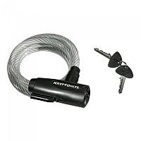 [해외]KRYPTONITE Keeper 665 Key Cable 1137797754 Black