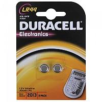 [해외]DURACELL Pack 2 LR44B2 Coin Cell Battery 1137706592 Silver