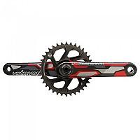 [해외]TRUVATIV Crank Descendant Colab Troy Lee Designs Eagle All Downhill DUB83 1137671171 Black / Red