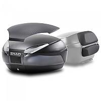 [해외]샤드 Top Case SH48 With Carbon Cover And Backrest 9137918567 Dark Grey