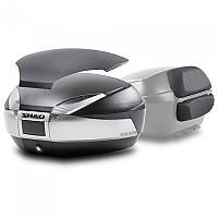 [해외]샤드 Top Case SH48 With Carbon Cover And Backrest 9137918568 Titanium