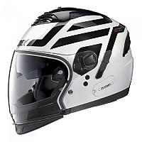 [해외]GREX G4.2 Pro Crossroad N-Com Convertible Helmet 9137806358 Metal White / Black