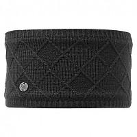 [해외]버프 ? Headband Knitted & Polar Fleece Buff Stella Chic 4135884147 Black