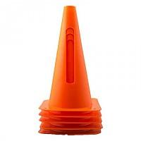 [해외]POWERSHOT Set Of 4 Flexible Marking Cones 3137564777 Orange