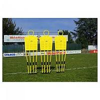[해외]POWERSHOT Set Of 3 Free-Kick Mannequins 1 3137564781 Yellow