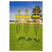 [해외]POWERSHOT Soccer Wall Collapsible Mannequin 3137842494 Yellow / Black