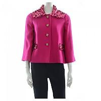 [해외]돌체앤가바나 730349 Sequins Jacket Dark Pink