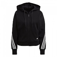 [해외]아디다스 Sportswear Wrapped 3-Stripes 137901434 Black / White