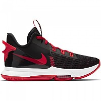 [해외]나이키 LeBron Witness 5 Man3137913769 Black / Bright Crimson / University Red