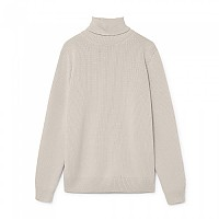[해외]HACKETT Mayfair Textured Roll Neck Ecru