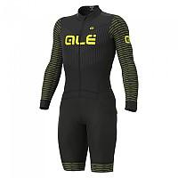 [해외]ALE Fuga DWR Ciclocross 1137271991 Black / Yellow Fluo