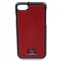 [해외]돌체앤가바나 733992 Men iPhone Cover 7/8 Dark Red