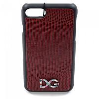 [해외]돌체앤가바나 733995 Women DG iPhone Cover 7/8 Dark Red