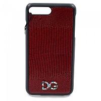 [해외]돌체앤가바나 734006 Women iPhone Cover 7/8 Plus Dark Red