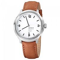 [해외]MONDAINE Helvetica No1 43 Bold 136600606 White / Brown Leather