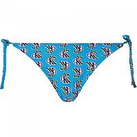 [해외]캘빈클라인 언더웨어 String Side Tie-Print Bottom Blue Logo Step Print