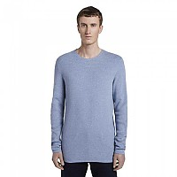 [해외]TOM TAILOR Structured Jumper Soft Light Blue Melange