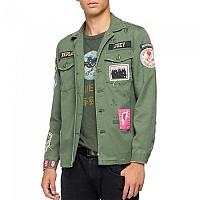 [해외]리플레이 M8825E.000.84024.438 Jacket Light Military