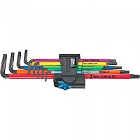 [해외]WERA 967/9 TX XL HF 1 L-key Set 1137894147 Black / Multicolour