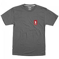 [해외]CHROME Vertical Red Logo 1137923180 Charcoal / Red