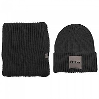 [해외]리플레이 AW8014.000.A7092.098 Set Of Knit 137930434 Black