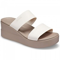 [해외]크록스 Brooklyn Mid Wedge W Woman137427047 Stucco / Mushroom
