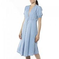 [해외]리플레이 W9638.000.54C87B.009 Dress Medium Blue