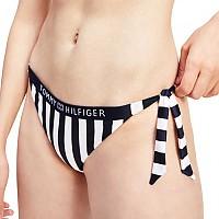 [해외]타미힐피거 언더웨어 Cheeky Side Tie Bikini Bottom Core Solid Logo Wb Stripe