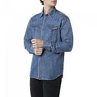 [해외]리플레이 M4023.000.26C81A.009 Shirt Medium Blue