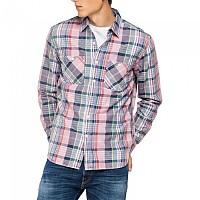 [해외]리플레이 M4046.000.52400.010 Shirt Pink / Blue / Green Check