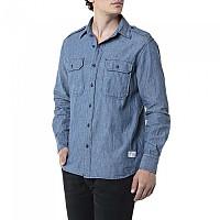 [해외]리플레이 M4050.000.23080A.009 Shirt Medium Blue