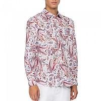 [해외]리플레이 M4053.000.72232.010 Shirt White / Rose Paisley